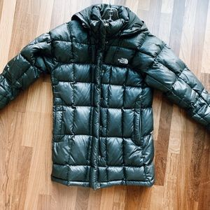 North face down winter jacket black
